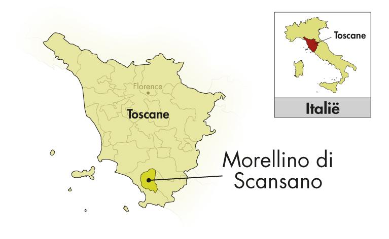 Tenuta Ghiaccio Forte Morellino di Scansano