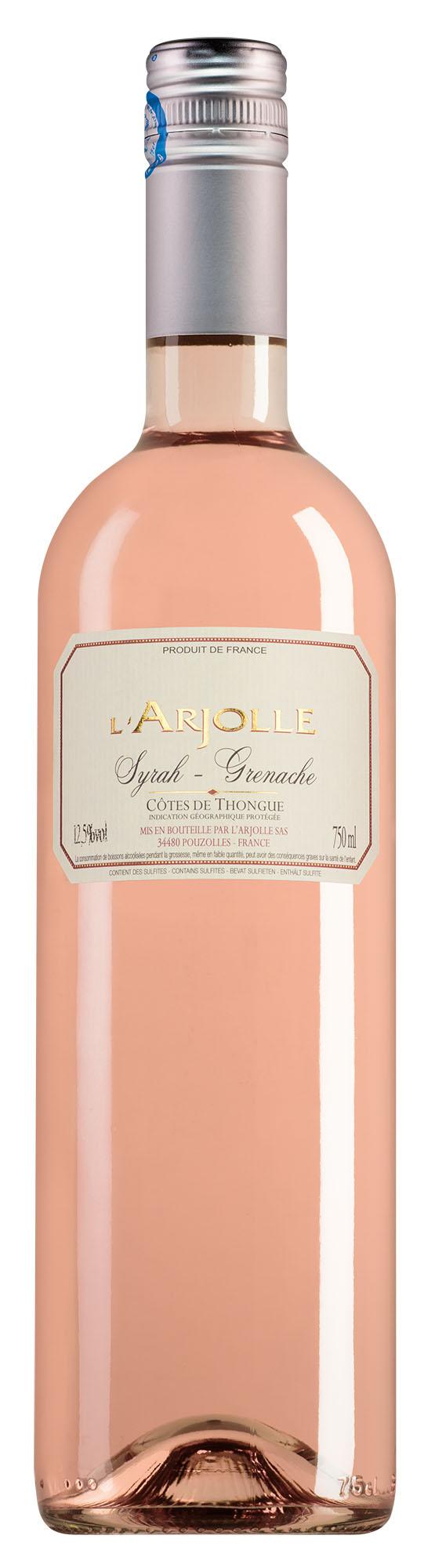 L'Arjolle Côtes de Thongue rosé