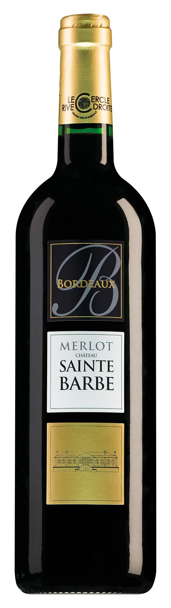 Château Sainte Barbe Bordeaux Merlot