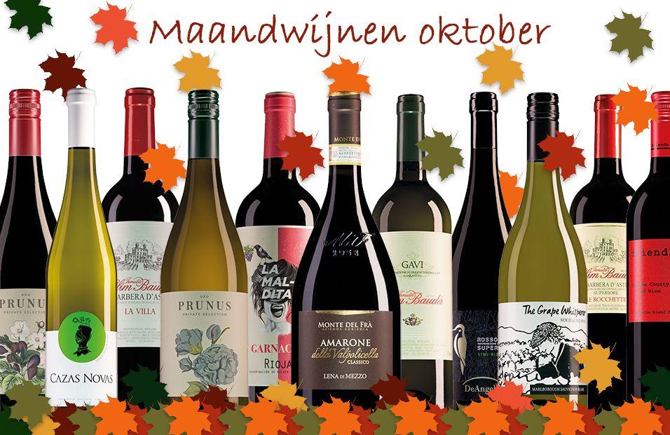 Banner Website Maandwijnen Oktober