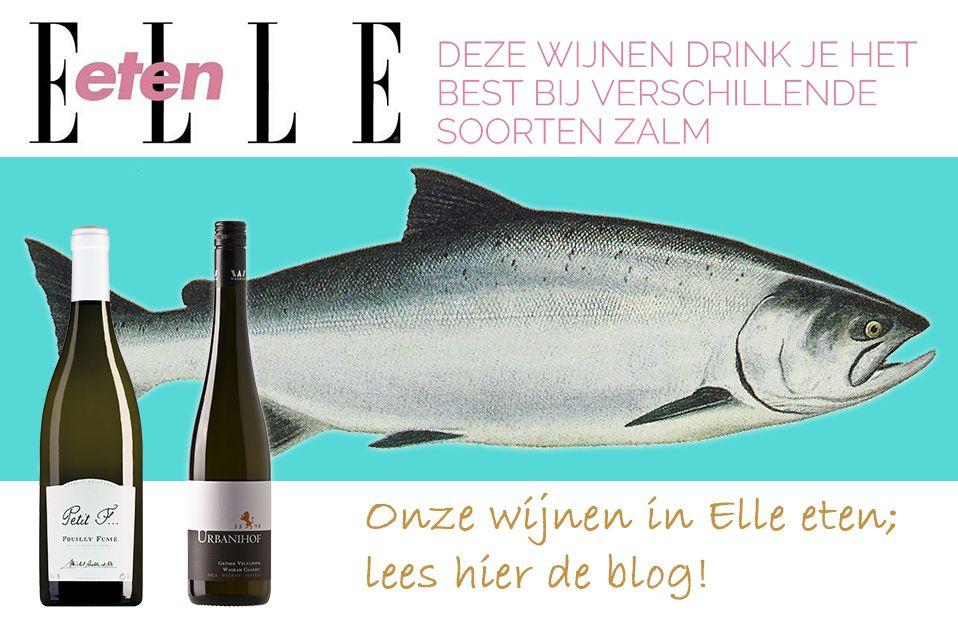Elle Eten - Wijn bij zalm
