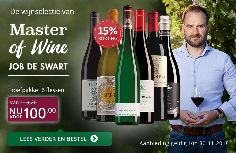 Proefpakket Master of Wine selectie (100,00) - paars