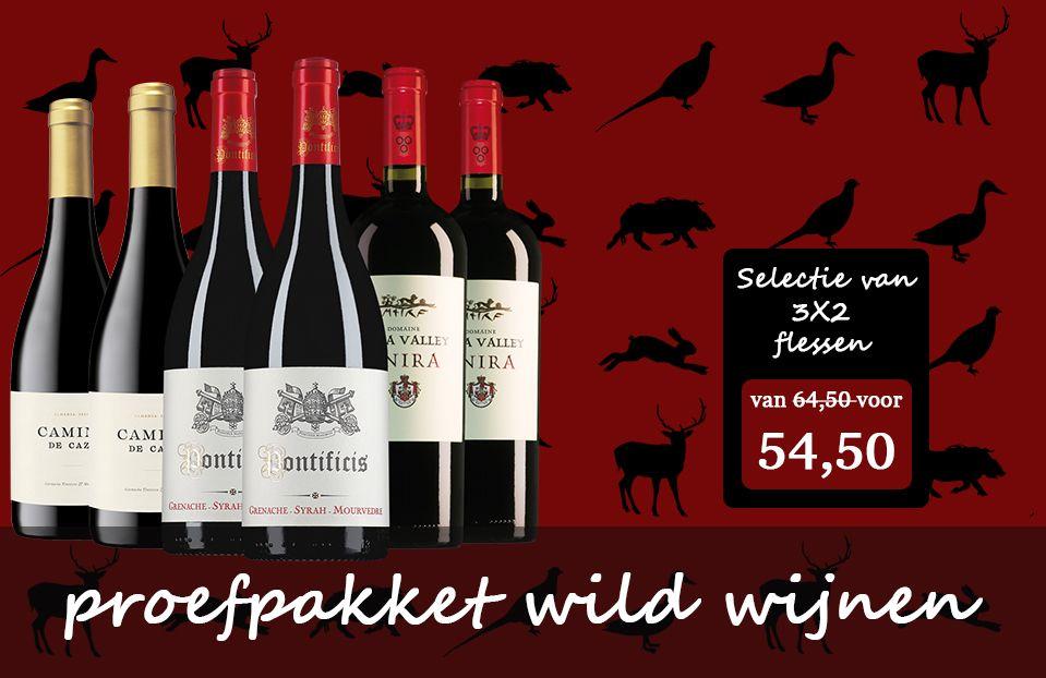 Proefpakket Wild Wijn