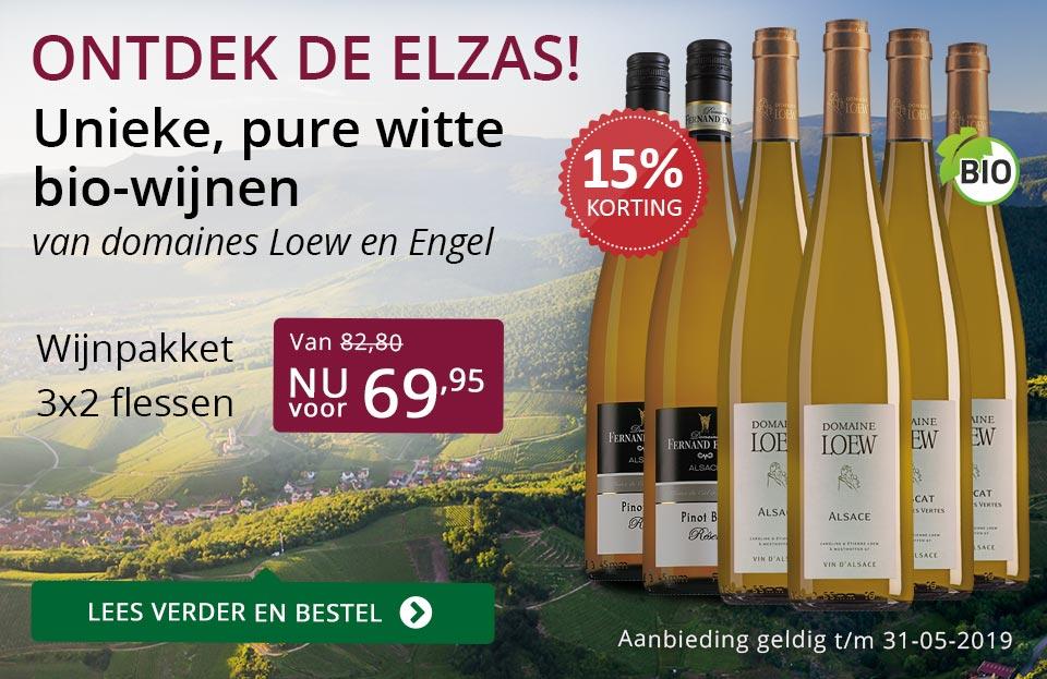 Ontdek de Elzas en wijnpakket - paars