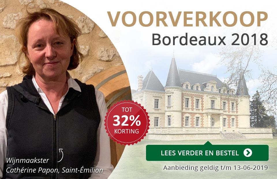 Voorverkoop Bordeaux En Primeur 2018 - grijs/goud