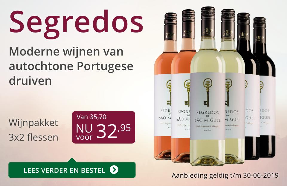 Wijnpakket Segredos(32,95) - paars