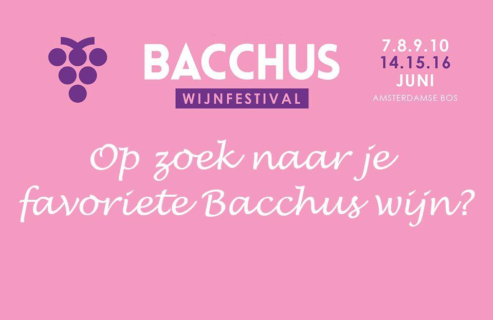 Bacchus Wijnselectie