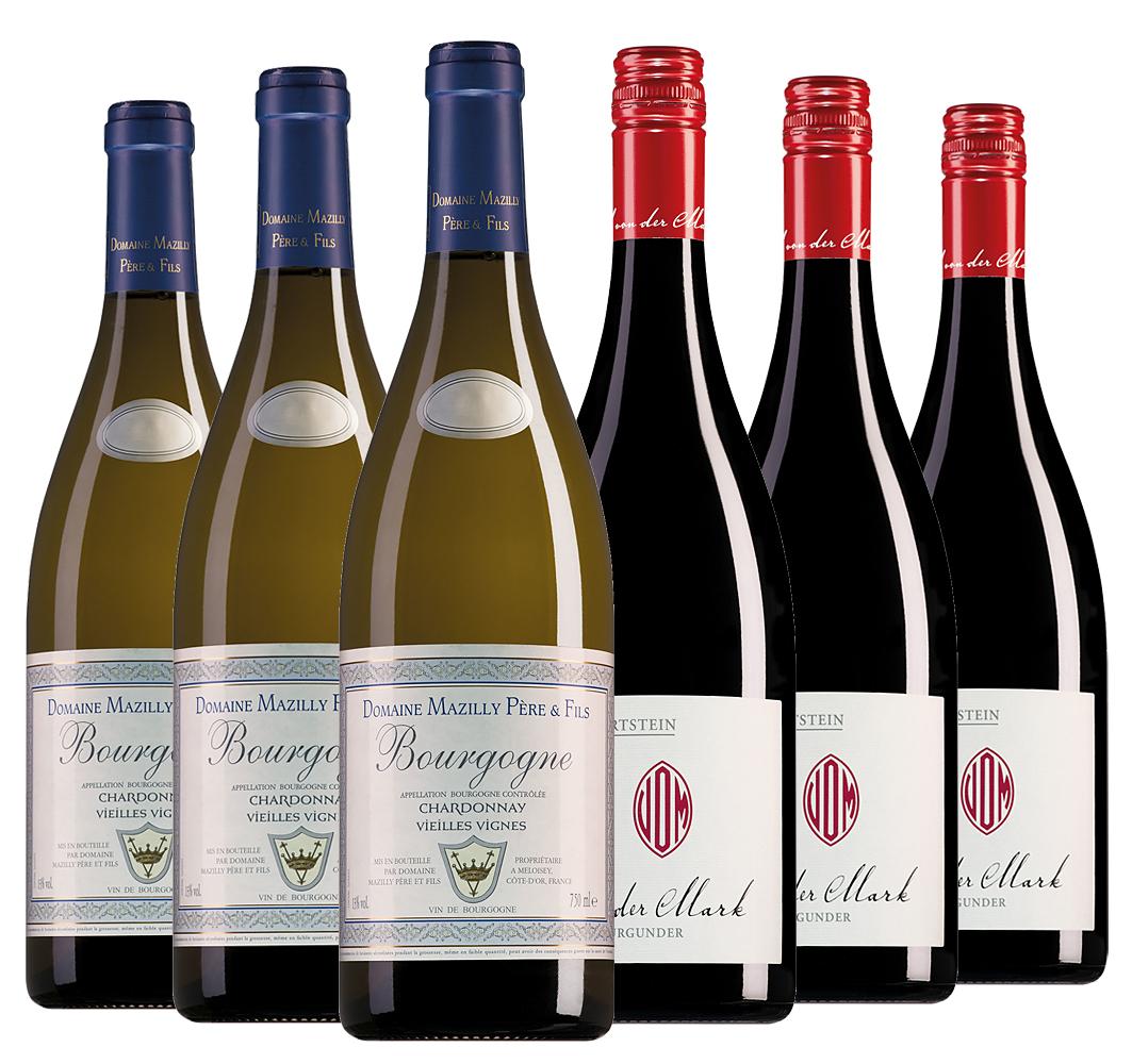 Wijnpakket bijzondere wijnen augustus (2x3 flessen)