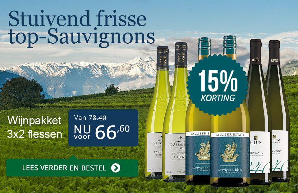 Sauvignon Blanc pakket