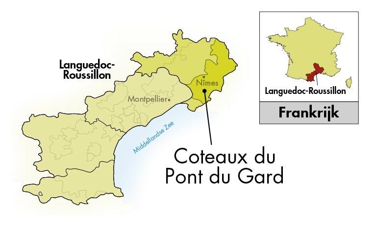 Château Mourgues du Grès Pont du Gard Terre d'Argence Blanc