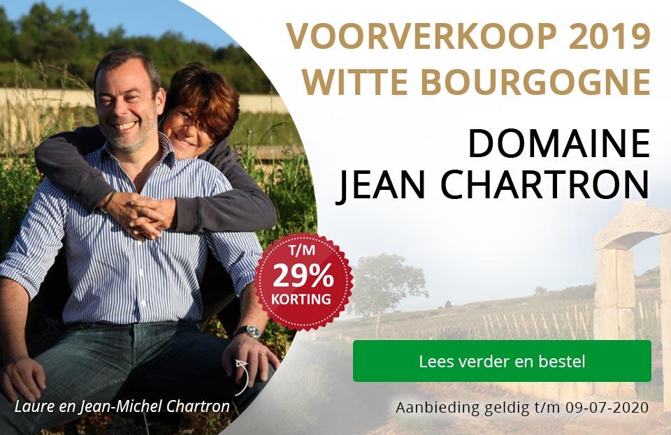 Voorverkoop witte Bourgogne: Jean Chartron 2019