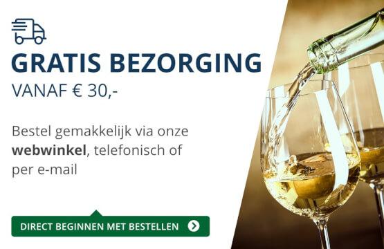 Gratis bezorging (30 euro) - blauw